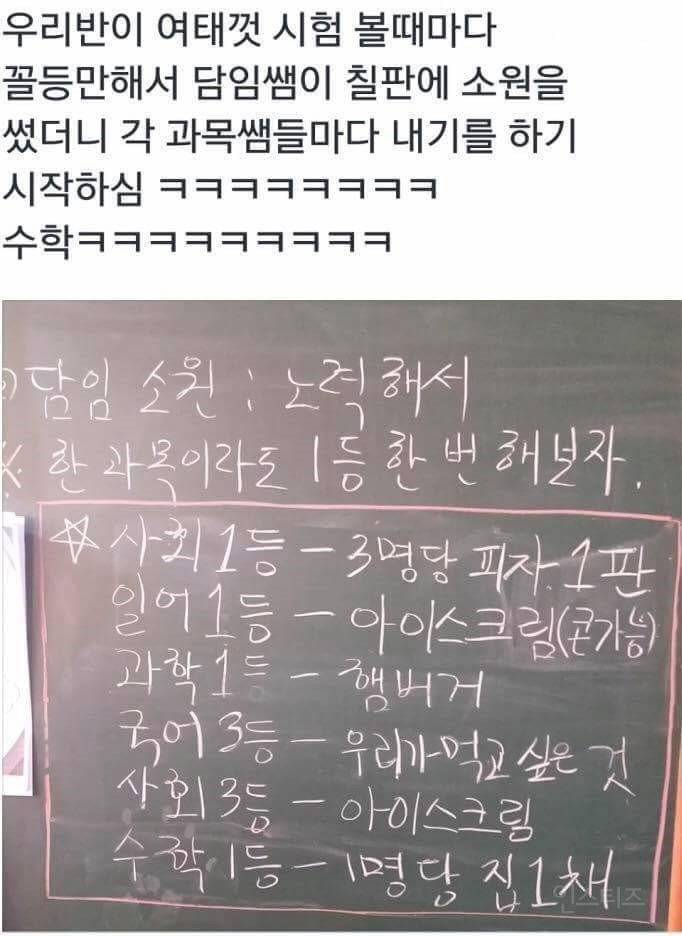 학생들 무시하는 수학 선생님.jpg | 인스티즈