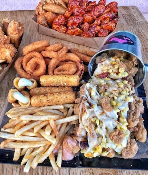 미국의 코리아 치킨집 ㄷㄷ.jpgif | 인스티즈