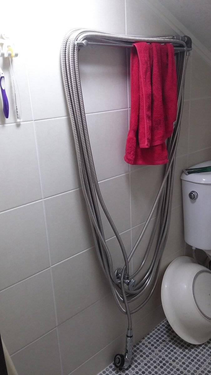 아빠가 샤워기 줄이 길어도 참고 쓰라길래 | 인스티즈