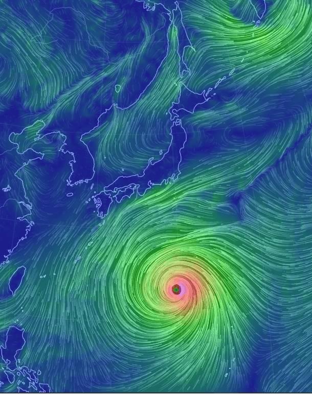 19호 태풍 하기비스 근황 | 인스티즈