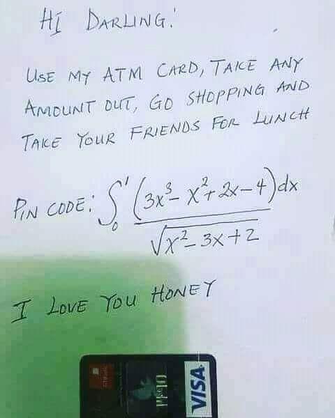 안녕 자기야. ATM에서 마음껏 돈 빼서 써. 비밀번호는 이거야 | 인스티즈