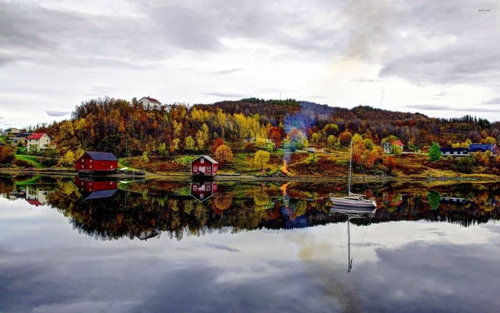 노르웨이의 가을 풍경   인스티즈