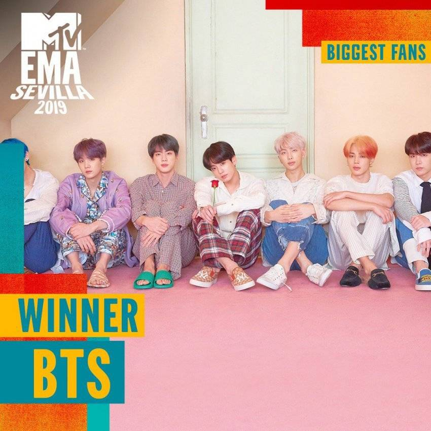 2019 MTV 유럽 뮤직어워즈 방탄소년단 3관왕 | 인스티즈