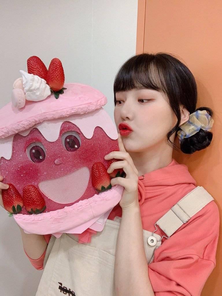 복면가왕 뚱카롱(여자친구 예린) - 비밀번호486.jpgif | 인스티즈