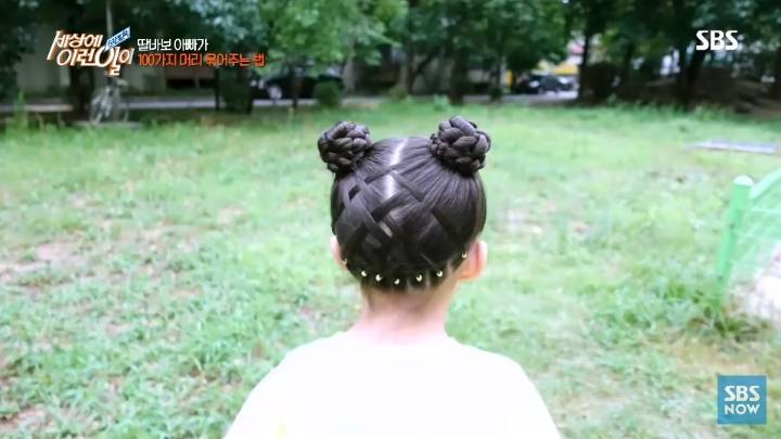 딸 머리 묶어주다가 뜻밖에 재능 찾은 아버지.jpg | 인스티즈