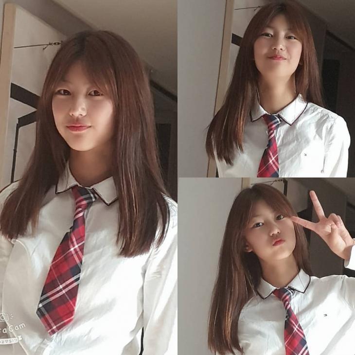 박연수-송종국 딸 송지아, 초등학교 졸업 사진 촬영…'폭풍 성장' | 인스티즈