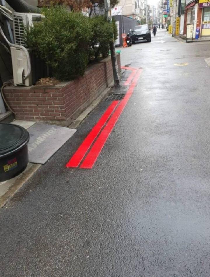 앞으로 추가된다는 붉은 차선 | 인스티즈