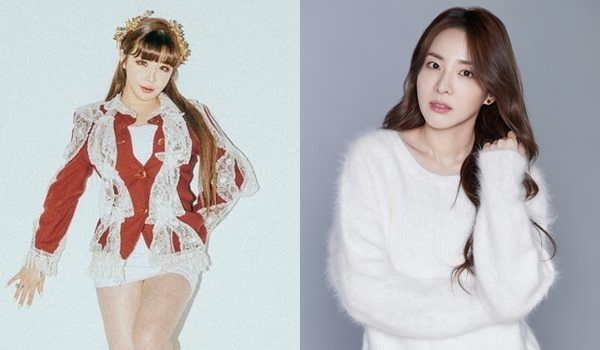 10일(화), 박봄+산다라박 듀엣 앨범 '첫눈' 발매   인스티즈