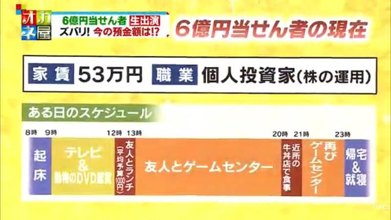 일본 6억엔(64억원) 복권 당첨자의 삶 | 인스티즈