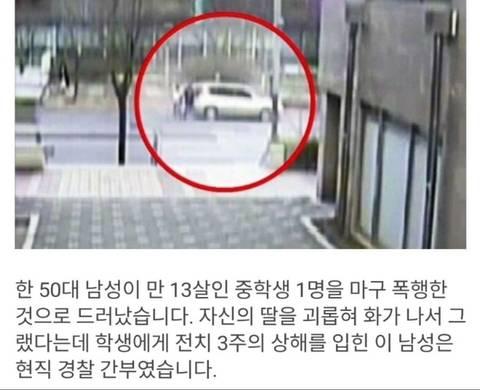 13살 여중딩 폭행한 50대 경찰 간부.jpg   인스티즈