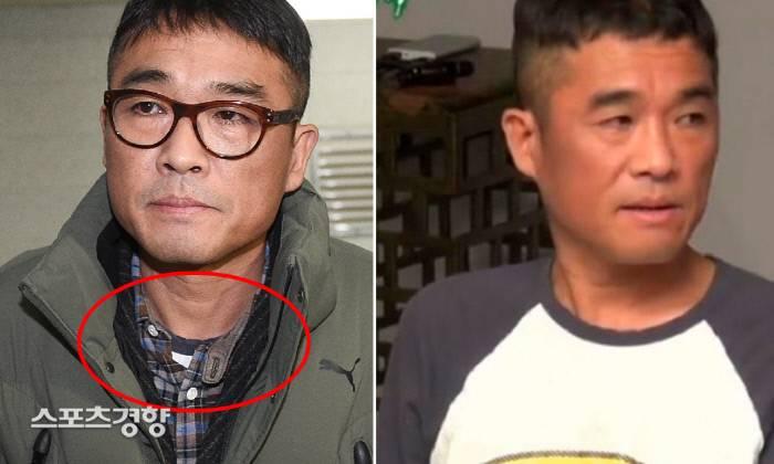 [종합] 김건모, 배트맨 티셔츠 입고 경찰 출석?…'항변'의 사인일까 | 인스티즈