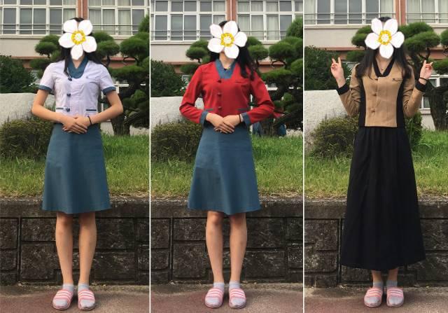 진주 삼현여고의 한복 교복.jpg | 인스티즈