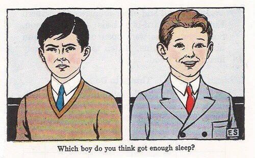 과연 둘 중 누가 밤을 샌 얼굴인가 | 인스티즈
