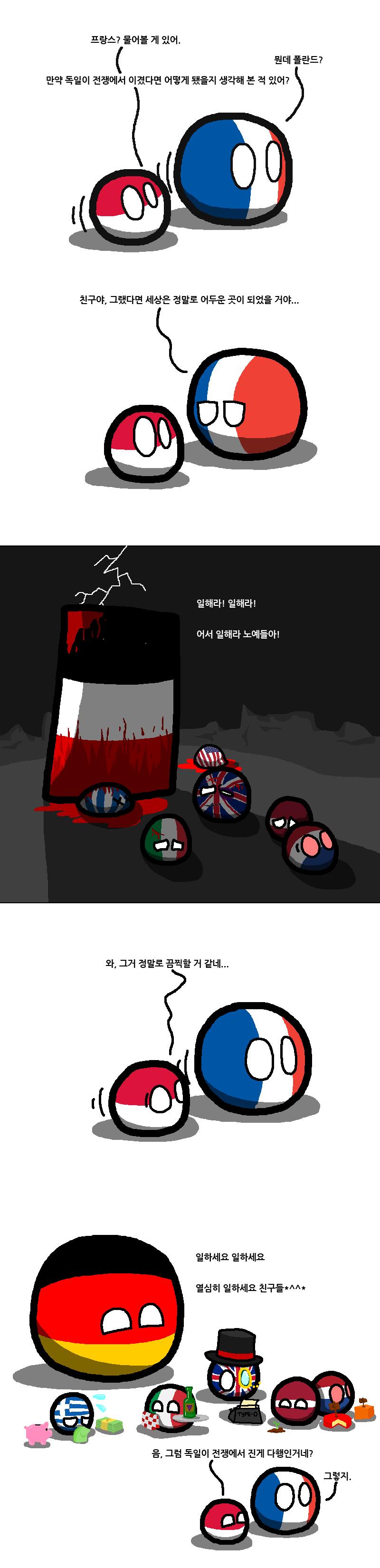 [폴란드볼] 독일이 전쟁에서 이겼다면 | 인스티즈