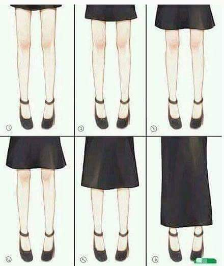 여자친구가 입을 수 있는 치마 길이의 허용 범위는? | 인스티즈