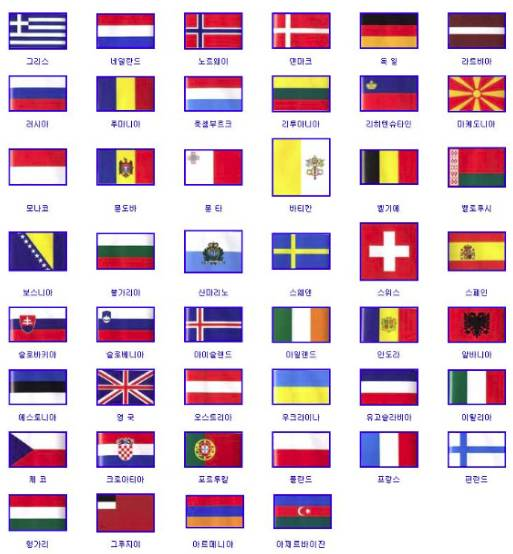 우리나라를 제외하고 가장 예쁜 국기를 가진 나라는? | 인스티즈