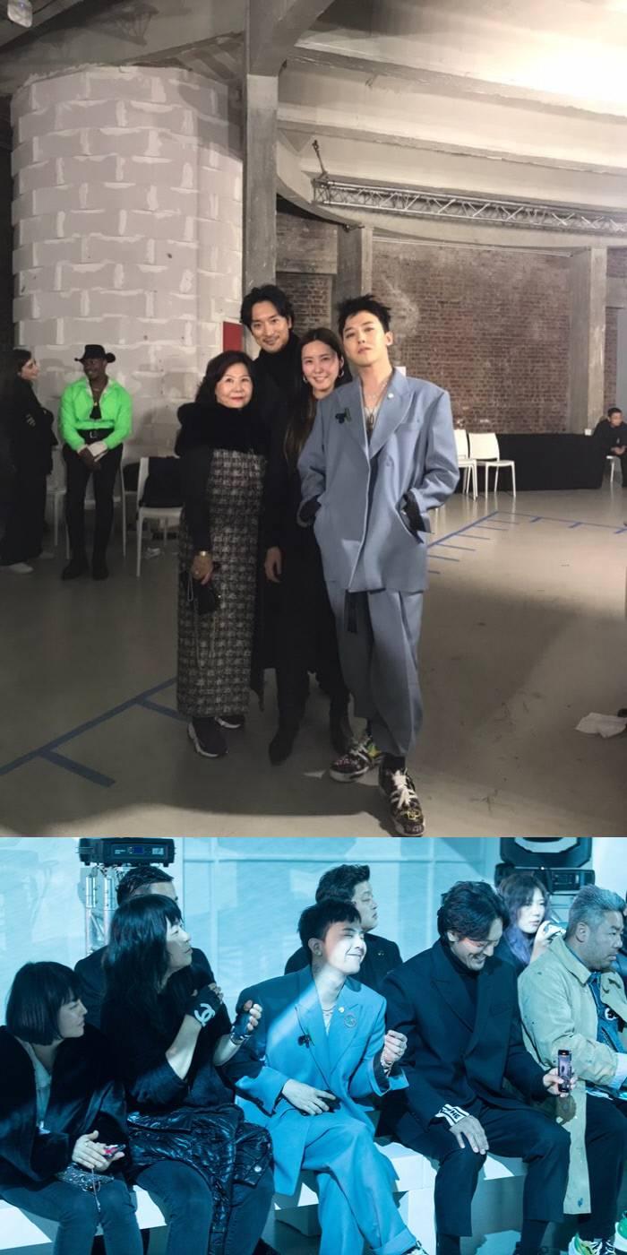 김민준X지드래곤, 권다미 응원차 파리 패션쇼 방문…패셔니스타 가족의 '화려한 외출' | 인스티즈
