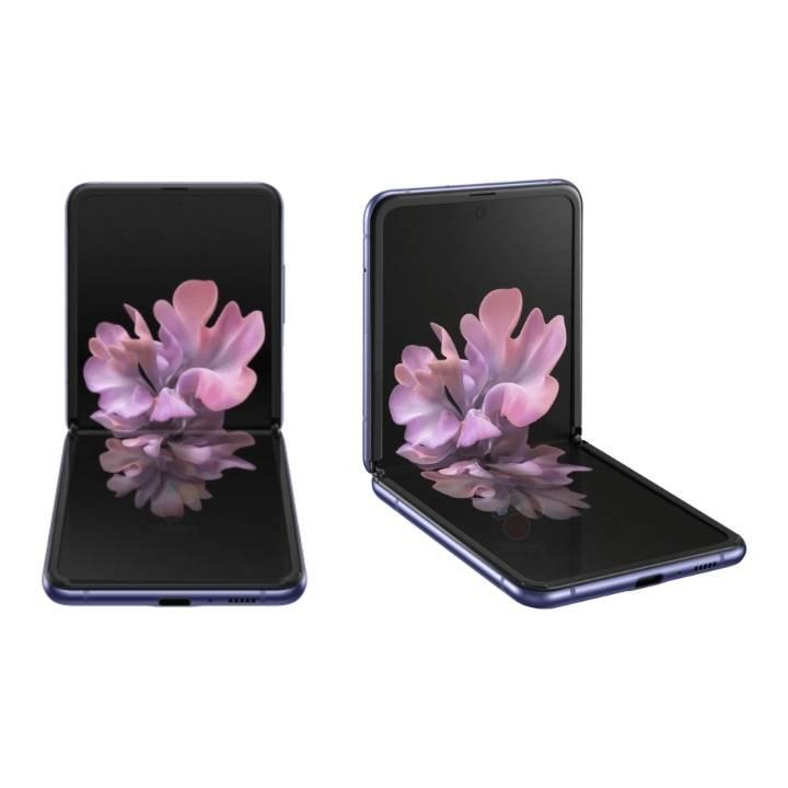 삼성 갤럭시 Z 플립 공식 렌더링 유출 | 인스티즈