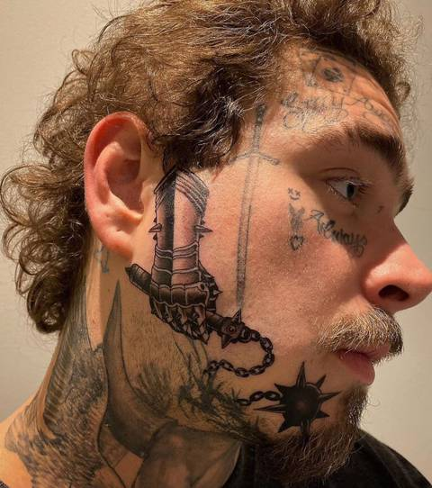 얼굴 타투에 중독된 미국의 아티스트 | 인스티즈