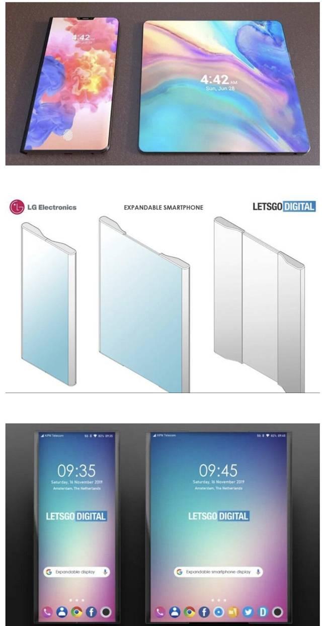 LG에서 출시 예정인 롤러블 스마트폰 모습.jpg | 인스티즈