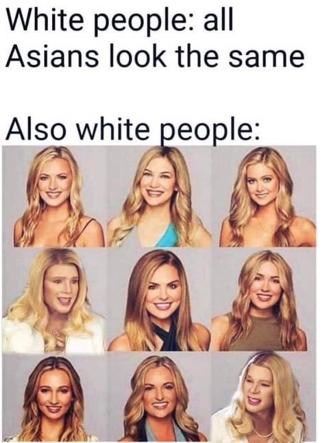 백인들:동양인들 다 똑같이 생겼어   인스티즈