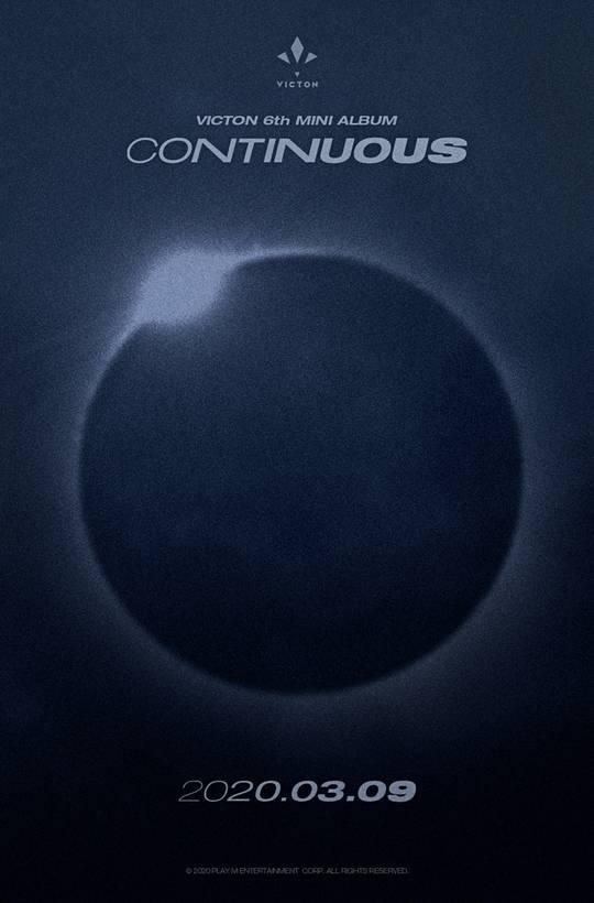 9일(월), 빅톤 미니 앨범 6집 'CONTINUOUS' 발매 | 인스티즈