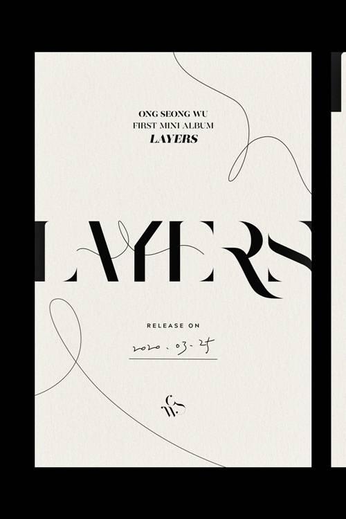 25일(수), 옹성우 미니 앨범 1집 '레이어스' 발매 | 인스티즈