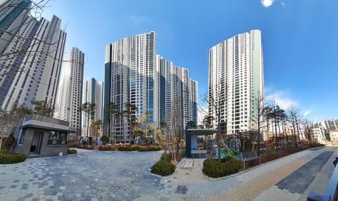 5월에 입주하는 시흥 센트럴 푸르지오 아파트 외관 | 인스티즈