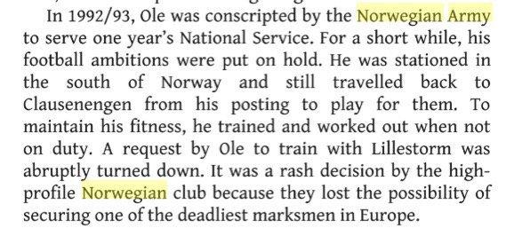 노르웨이 육군 만기전역자였던 올레 군나르 솔샤르.jpg | 인스티즈