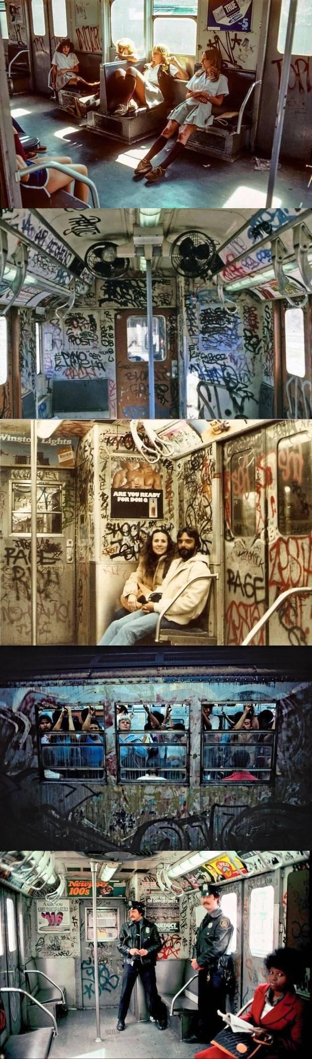 80년대 뉴욕 지하철의 모습 | 인스티즈