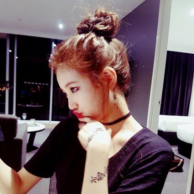 김수현의 카메오 출연 부탁으로 하게 된 분장   인스티즈