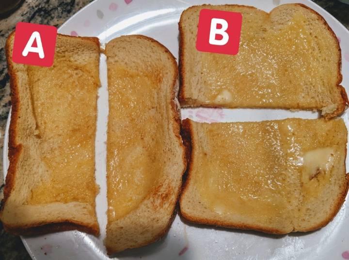 식빵을 반으로 가르는 방법은 A vs B | 인스티즈