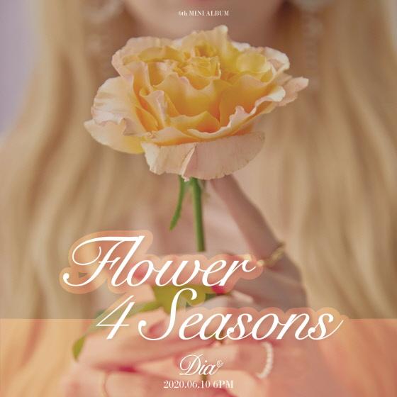 10일(수), 다이아 미니 앨범 6집 'Flower 4 seasons' 발매 | 인스티즈