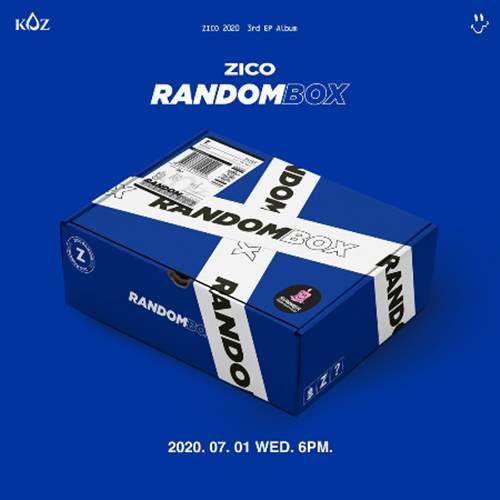 1일(수), 지코 미니 앨범 3집 '랜덤박스(RANDOM BOX)' 발매 | 인스티즈