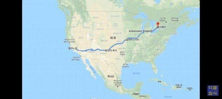 미국 고속도로의 위엄 | 인스티즈