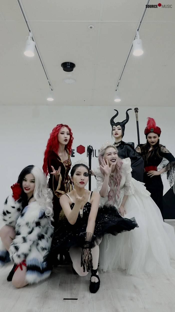 여자친구, 각양각색 마녀 캐릭터 변신…신곡 'Apple' 마녀 버전 안무