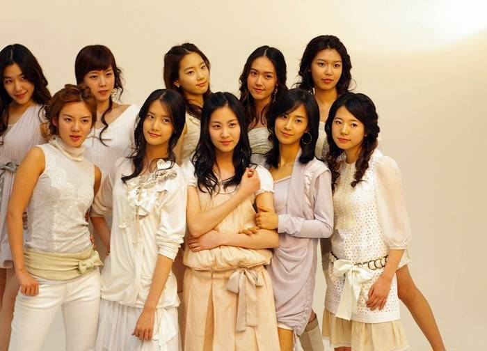 소녀시대 데뷔 전 카메라테스트 사진 | 인스티즈