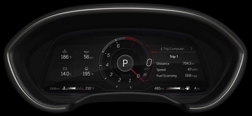 2021년형 캐딜락 CT4, CT5 에 12인치 디지털 계기판으로 업데이트 됩니다 | 인스티즈
