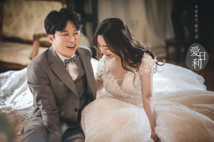 박성광-이솔이 부부 웨딩사진 +본식 사진.jpg | 인스티즈
