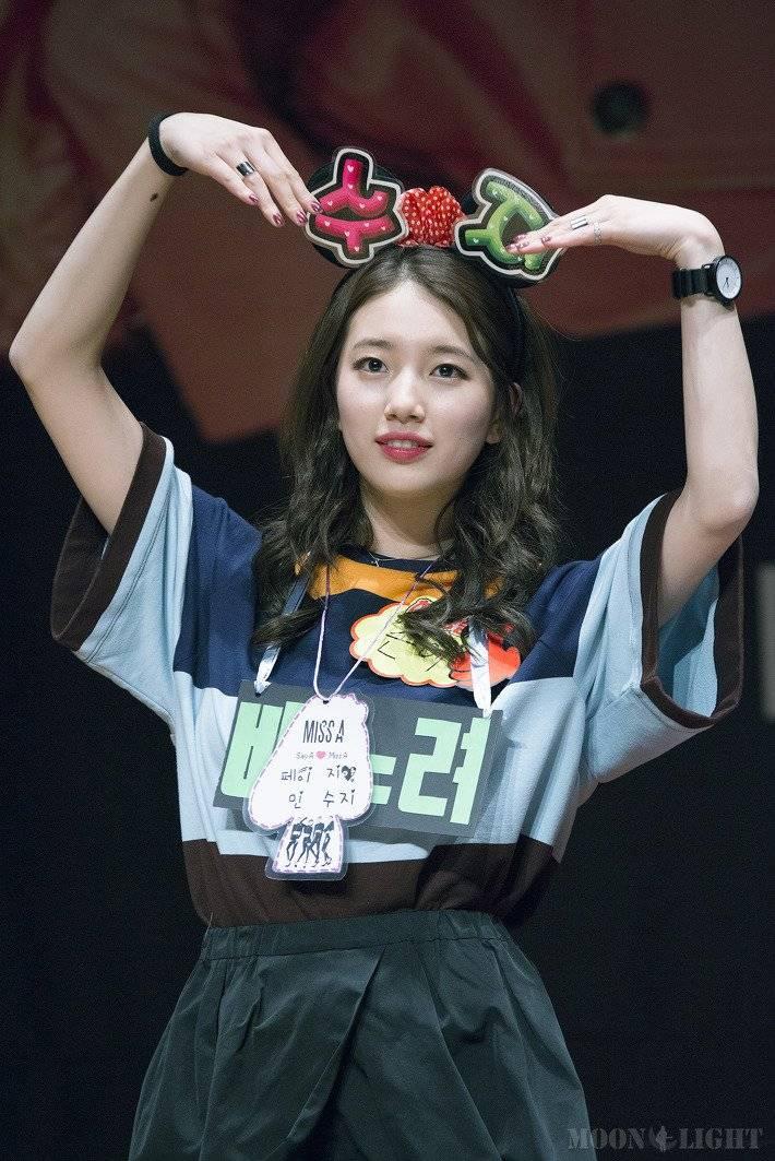 수지, 팬들의 하트 요청 최초 거부 | 인스티즈