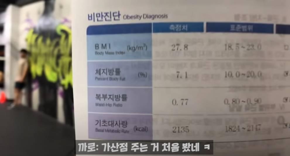 국가대표 윤성빈 인바디 결과.jpg | 인스티즈