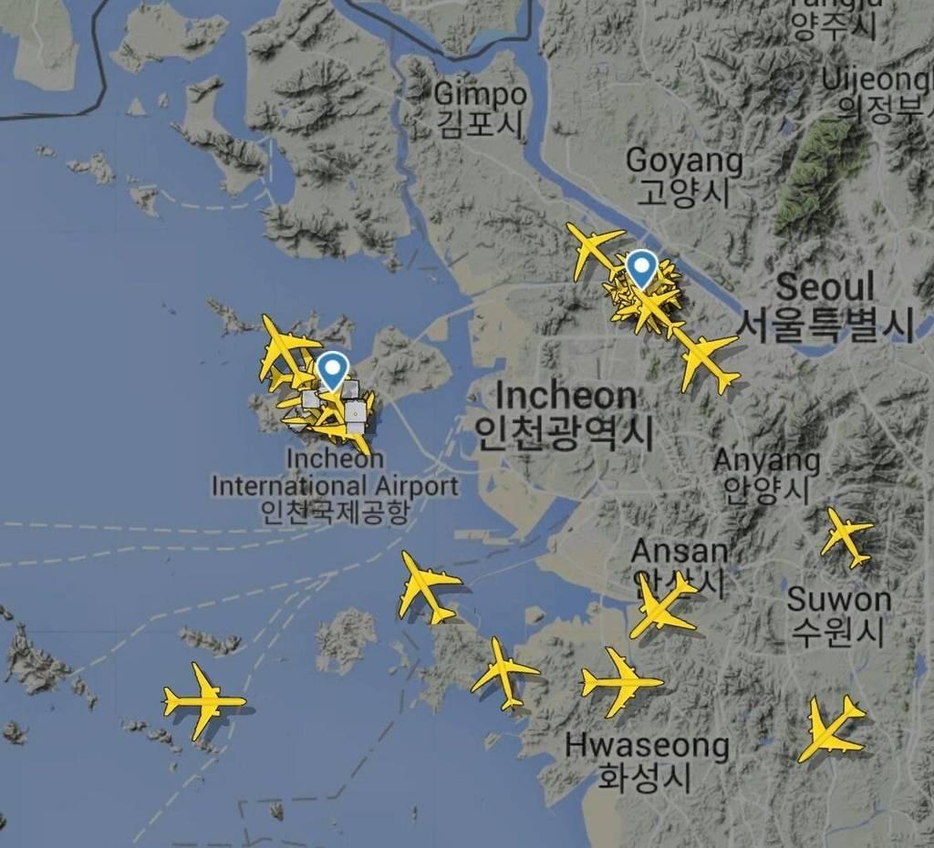미 때문에 현재 난리 난 인천국제공항.jpg | 인스티즈