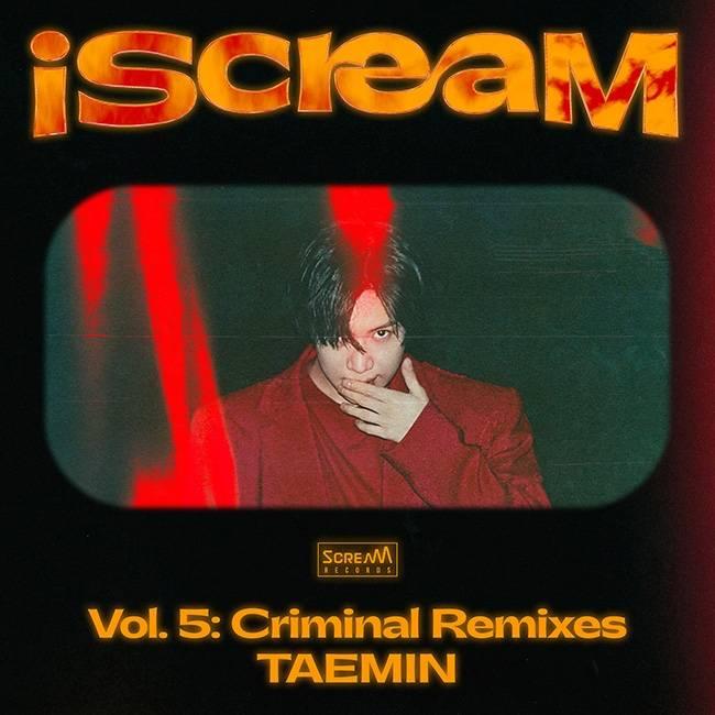 29일(화), 태민 iScreaM 프로젝트 앨범 'Criminal' 리믹스 버전 발매 | 인스티즈
