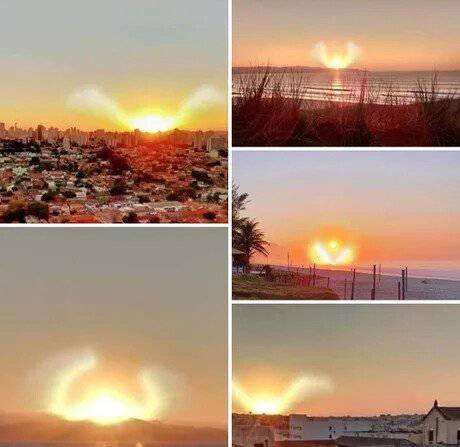이집트에서 찍힌 태양의 모습 | 인스티즈