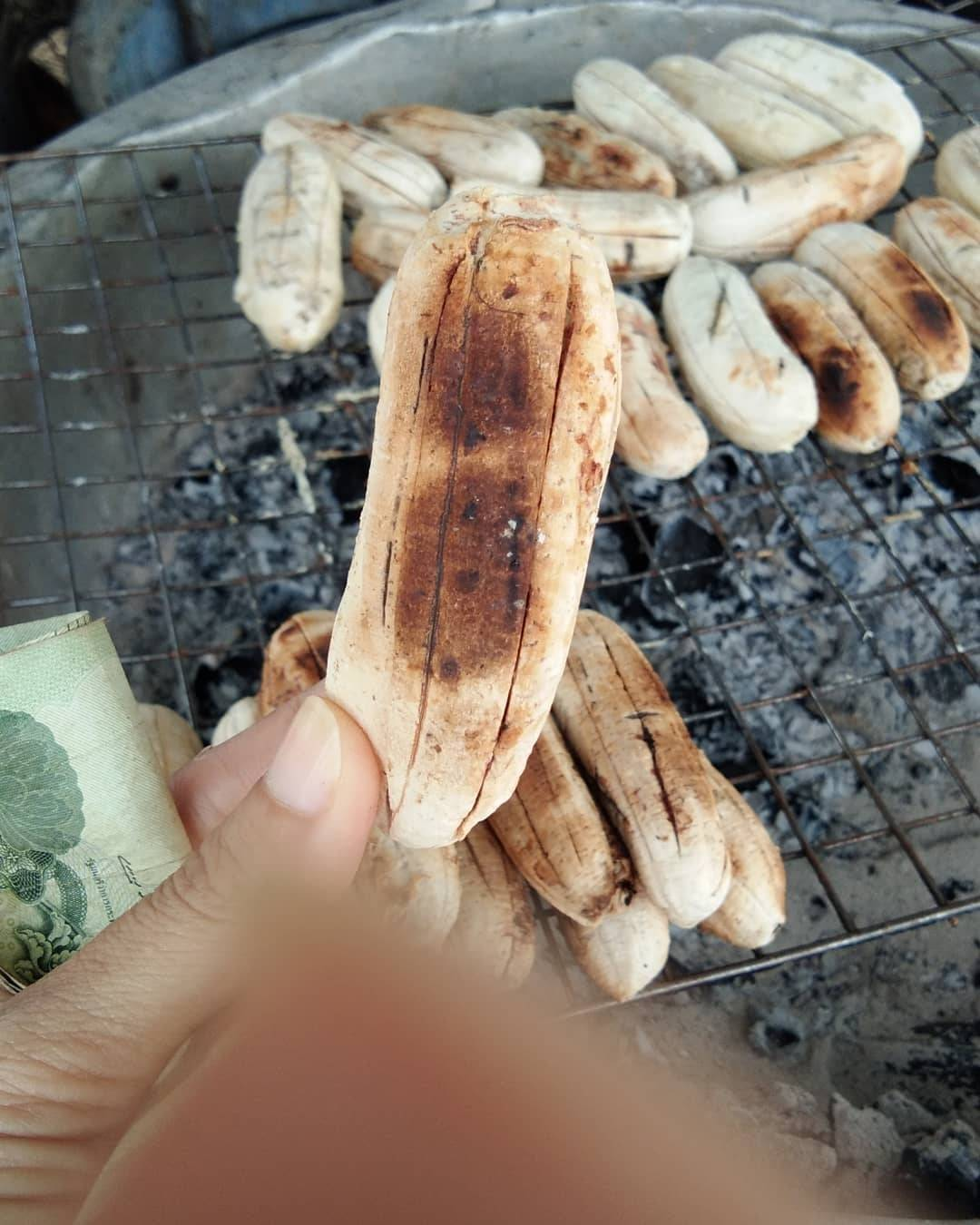 바나나를 불에 구웠더니.........jpg | 인스티즈