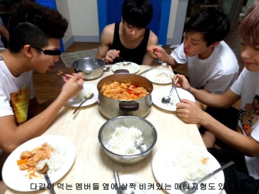 얘네 찐 한국인이구나 생각이 들었던 방탄소년단 밥상.jpg | 인스티즈