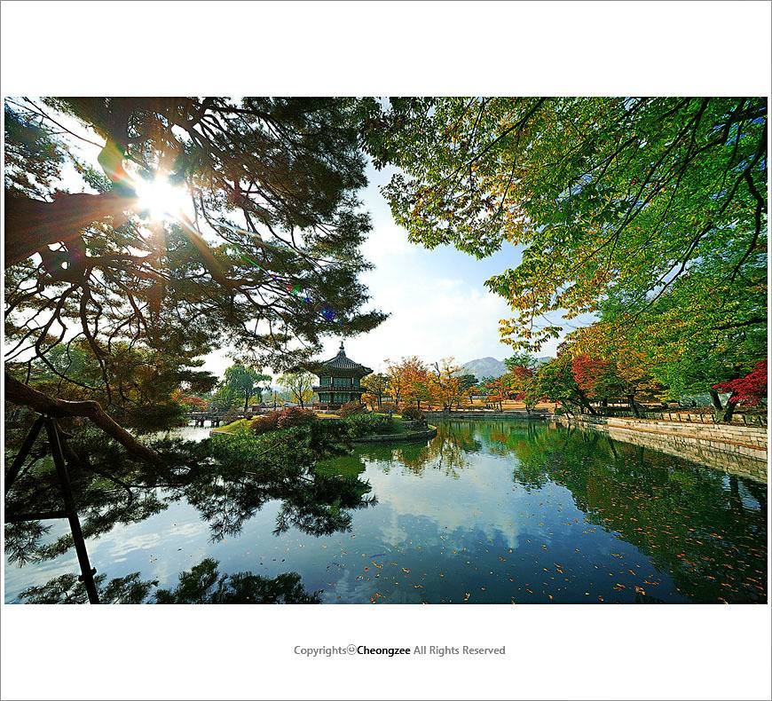 동양판타지에 나올법한 향원정과 경회루.jpg | 인스티즈