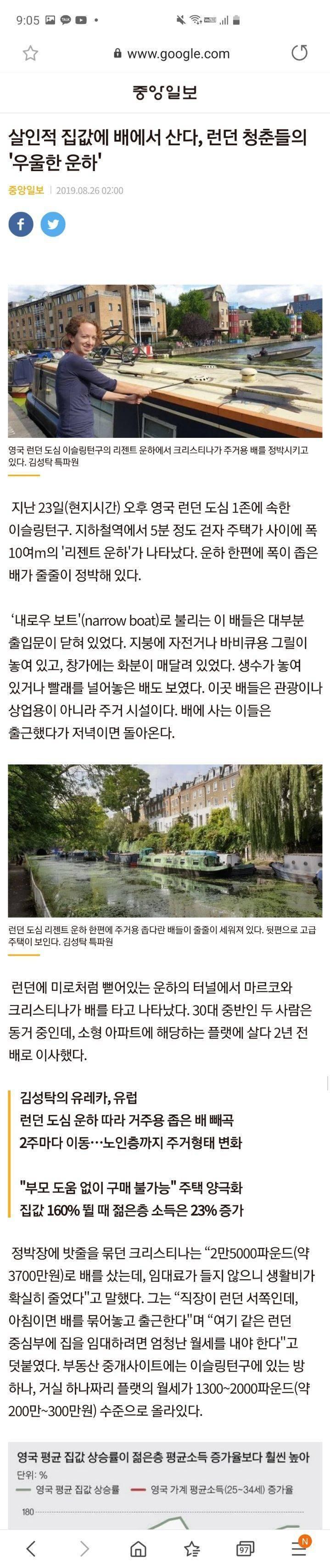 중국인 집주인에게 월세내는 세상 오나 | 인스티즈