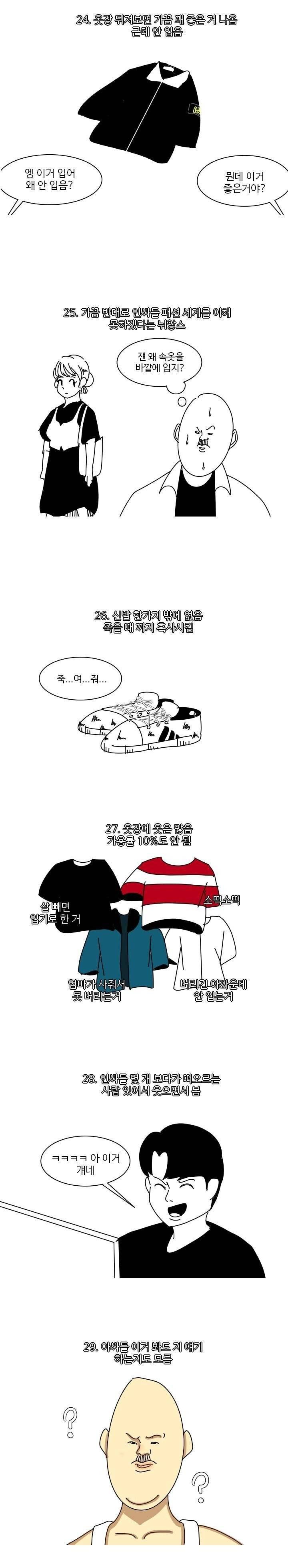 인기없는 아싸들의 패션 세계 특징.jpg | 인스티즈