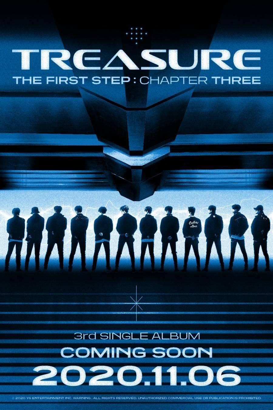 6일(금), 트레저 싱글 앨범 3집 'THE FIRST STEP : CHAPTER THREE (타이틀 곡:음 (MMM))' 발매   인스티즈